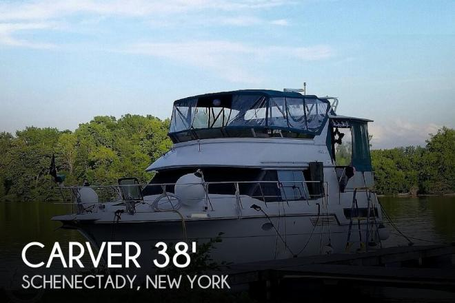 1993 Carver 370 Aft Cabin - For Sale at Schenectady, NY 12302 - ID 169948