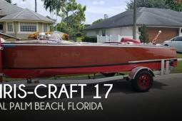 1948 Chris Craft Custom Deluxe 17