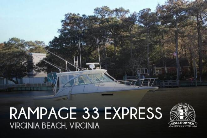 2005 Rampage 33 Express - For Sale at Virginia Beach, VA 23451 - ID 79872