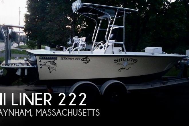 1998 Hi Liner 222 - For Sale at Raynham, MA 2767 - ID 62448