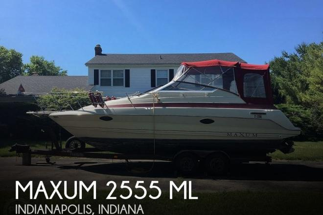 1990 Maxum 2555 ML - For Sale at Indianapolis, IN 46295 - ID 169867