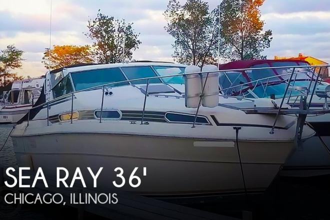 1980 Sea Ray SRV 360 Express Cruiser - For Sale at Chicago, IL 60633 - ID 166028