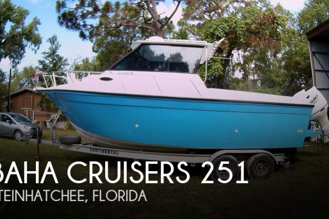 1994 Baha Cruisers 251 - For Sale at Steinhatchee, FL 32359 - ID 169652