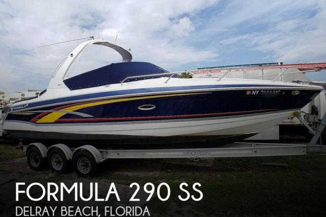 2006 Formula 280 SS - For Sale at Delray Beach, FL 33483 - ID 171085