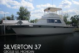 1985 Silverton 37 Convertible