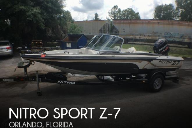 2015 Nitro Sport Z-7 - For Sale at Orlando, FL 32810 - ID 170590
