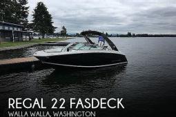 2017 Regal 22 FasDeck