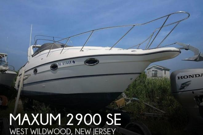 2005 Maxum 2900 SE - For Sale at Wildwood, NJ 8260 - ID 74406
