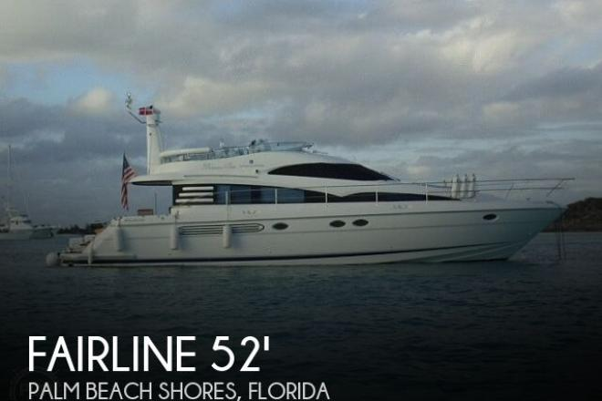 2001 Fairline 52 Squadron - For Sale at West Palm Beach, FL 33404 - ID 170583