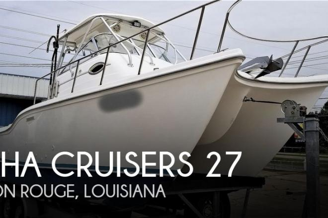 2002 Baha Cruisers 270 King Cat - For Sale at Baton Rouge, LA 70801 - ID 171676