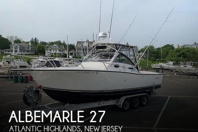 1996 Albemarle 27 - For Sale at Atlantic Highlands, NJ 7716 - ID 168424