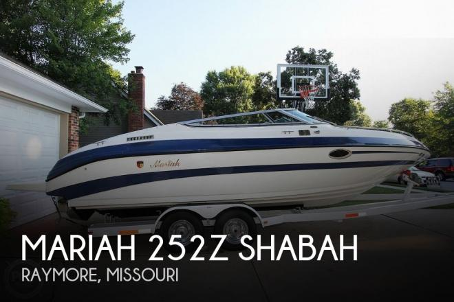 1997 Mariah Z252 Shabah - For Sale at Raymore, MO 64083 - ID 170595