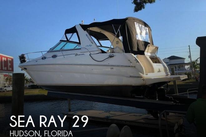 2001 Sea Ray 290 Sundancer - For Sale at Hudson, FL 34667 - ID 171843