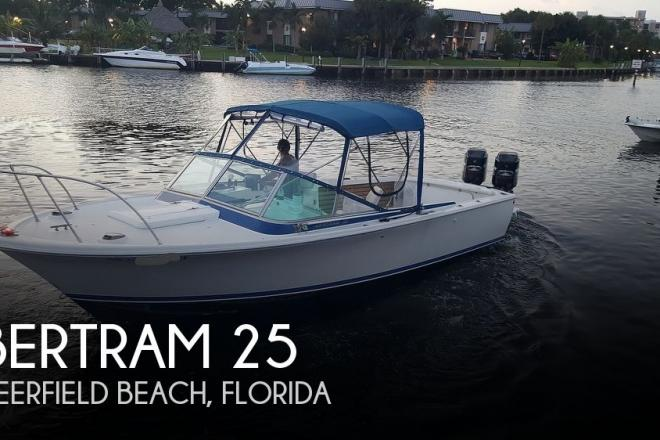 1963 Bertram 25 - For Sale at Deerfield Beach, FL 33441 - ID 171088