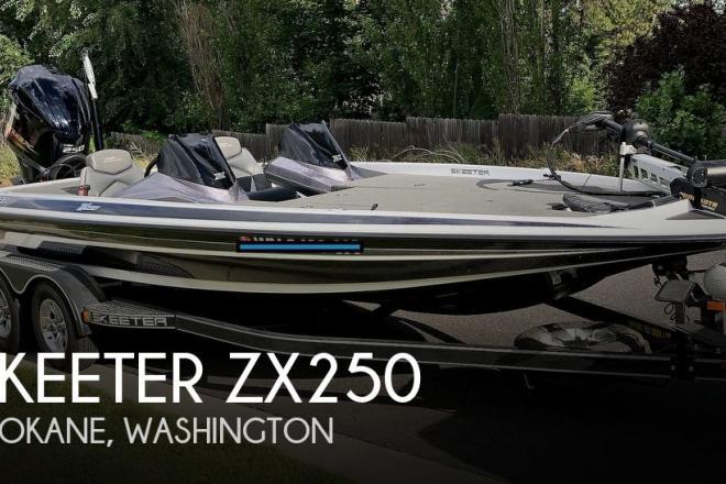 2017 Skeeter ZX250 - For Sale at Spokane, WA 99218 - ID 171496