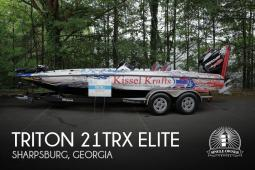 2017 Triton 21TRX Elite