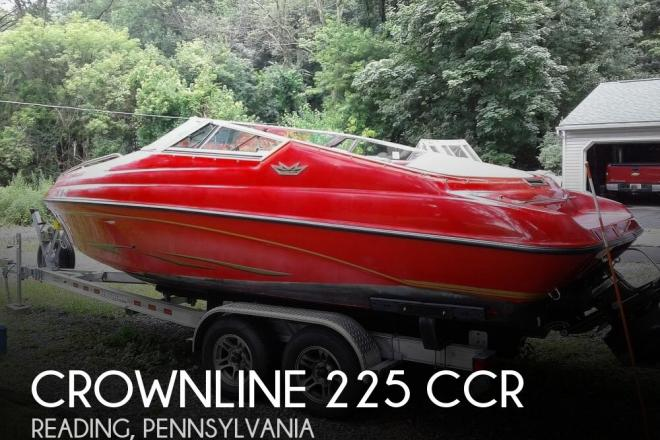 1994 Crownline 225 CCR - For Sale at Reading, PA 19601 - ID 171680