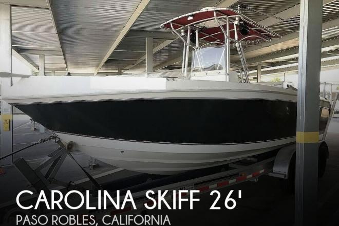2009 Carolina Skiff Sea Chaser 2600 CC - For Sale at Paso Robles, CA 93446 - ID 165255