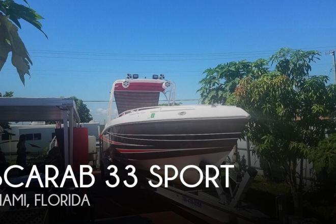 1987 Scarab 33 CC - For Sale at Miami, FL 33177 - ID 172251