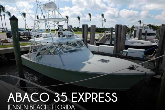 2002 Abaco 35 Express - For Sale at Jensen Beach, FL 34957 - ID 172134
