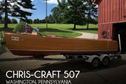 1936 Chris Craft Utility Deluxe #507