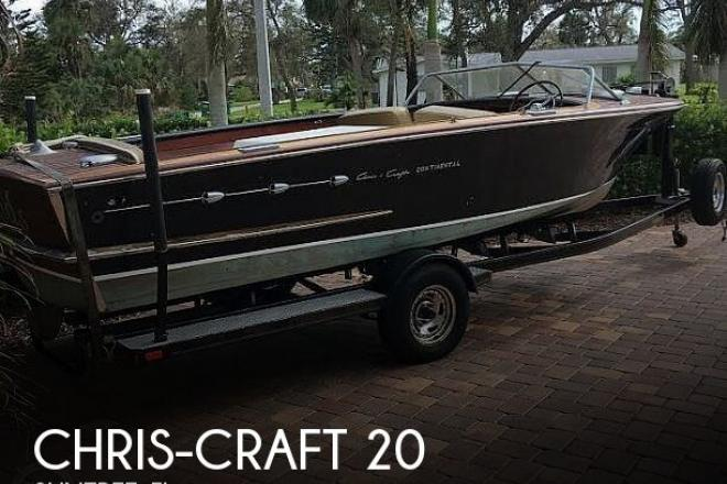 1955 Chris Craft Continental - For Sale at Melbourne, FL 32935 - ID 173154