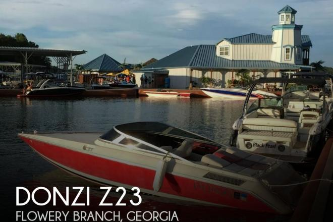 1989 Donzi Z23 - For Sale at Flowery Branch, GA 30542 - ID 156232