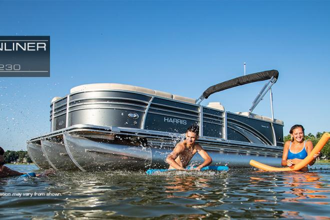 2019 Harris Sunliner - For Sale at Pewaukee, WI 53072 - ID 166198