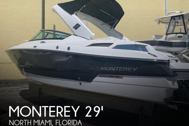 2016 Monterey Sport Boat 298SS - For Sale at North Miami, FL 33181 - ID 172502