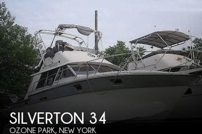 1988 Silverton 34 Convertible - For Sale at Ozone Park, NY 11416 - ID 173010
