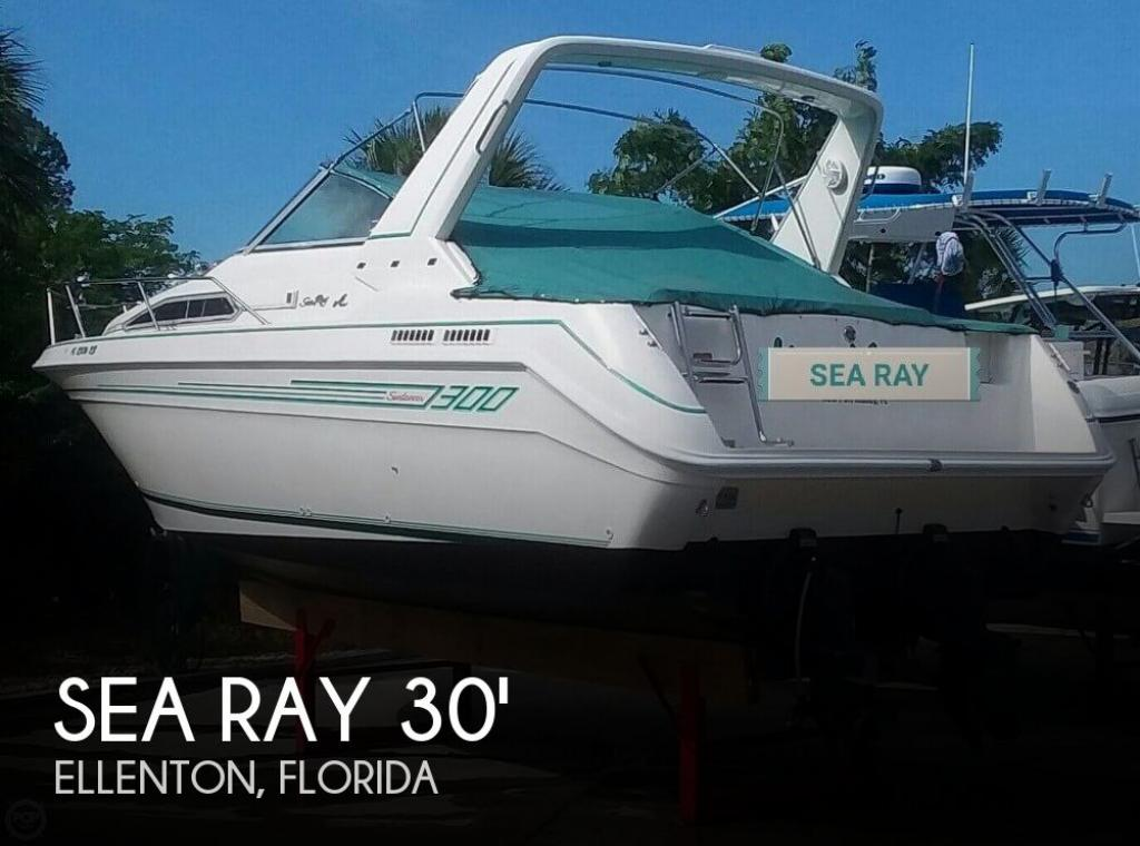 For Sale 1992 Sea Ray 300 Sundancer 18 500 At Ellenton Fl