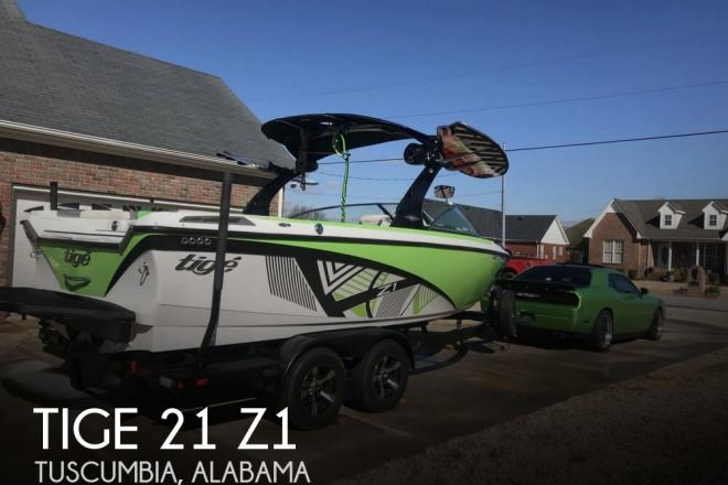 2014 Tige 21 Z1 - For Sale at Tuscumbia, AL 35674 - ID 152954