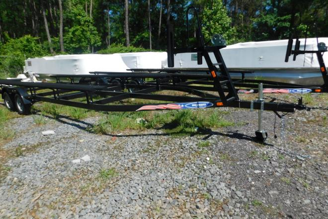 2021 Mid-America Trailer 22ft Pontoon Trailer with Brakes