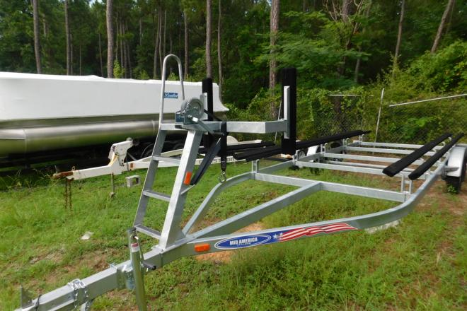 2019 Mid-America Trailer 22 ft Galvanized Pontoon Tandem Axle - For Sale at Macon, GA 31220 - ID 174018