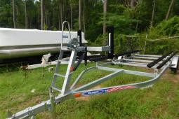 2019 Mid-America Trailer 22 ft Galvanized Pontoon Tandem Axle