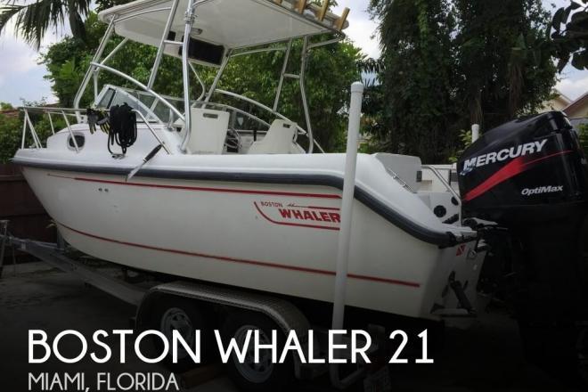 2000 Boston Whaler Conquest 21 WA - For Sale at Miami, FL 33177 - ID 126060