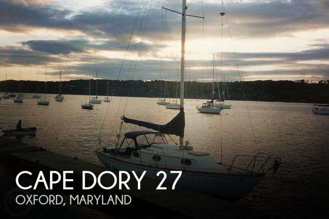 1980 Cape Dory 27 - For Sale at Oxford, MD 21654 - ID 174539