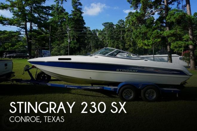 2007 Stingray 230 SX - For Sale at Conroe, TX 77303 - ID 171079