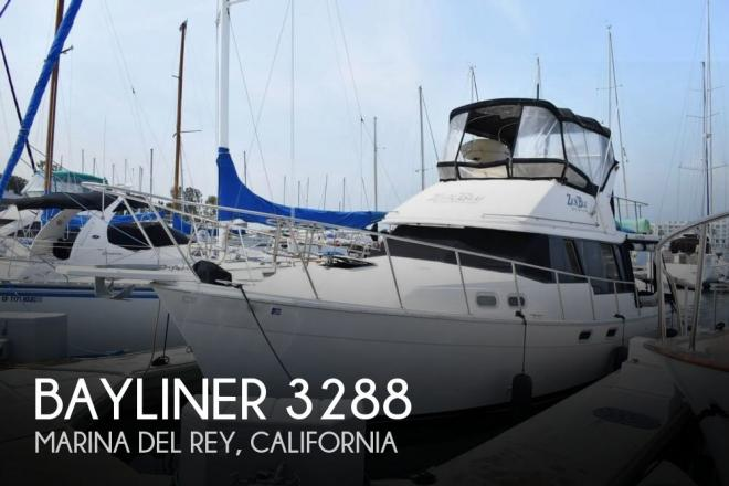 1991 Bayliner 3288 Motor Yacht - For Sale at Venice, CA 90294 - ID 142098