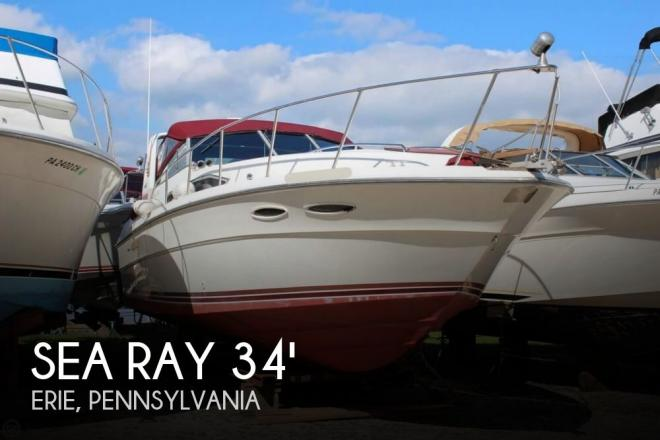1988 Sea Ray 340 Express Cruiser - For Sale at Erie, PA 16501 - ID 153190