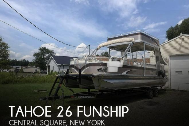 2012 Tahoe VT 2685 Funship - For Sale at Central Square, NY 13036 - ID 173334