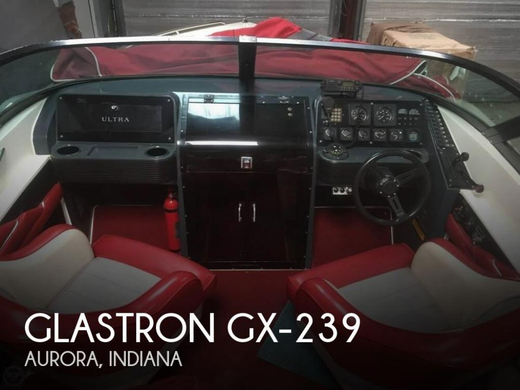 1988 Glastron GX-239 - For Sale at Aurora, IN 47001 - ID 147672