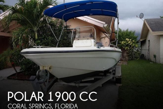 2003 Polar Boats 1900 CC - For Sale at Coral Springs, FL 33071 - ID 170665