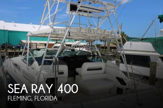 1992 Sea Ray 400 Express Cruiser - For Sale at Fleming Island, FL 32003 - ID 138306