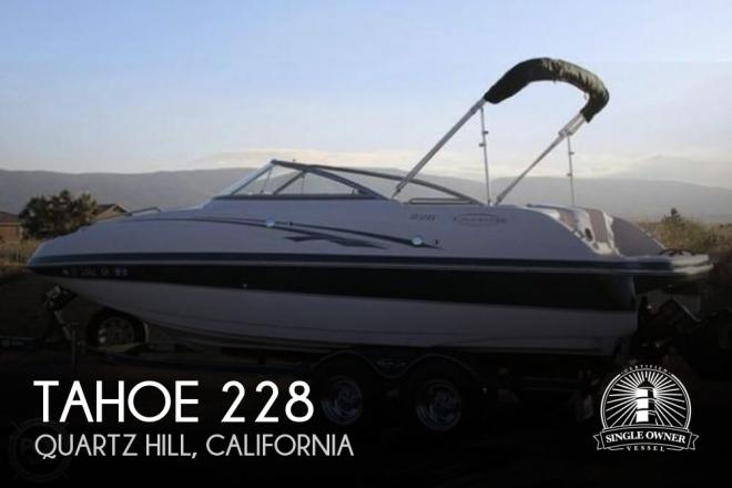 2005 Tahoe 228 - For Sale at Lancaster, CA 93536 - ID 170676