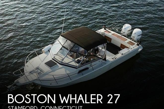1989 Boston Whaler Outrage 27 - For Sale at Stratford, CT 6615 - ID 175609