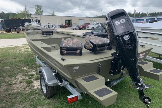 2019 Lowe Roughneck 1860 Deluxe Tiller - For Sale at Stapleton, AL 36578 - ID 156932