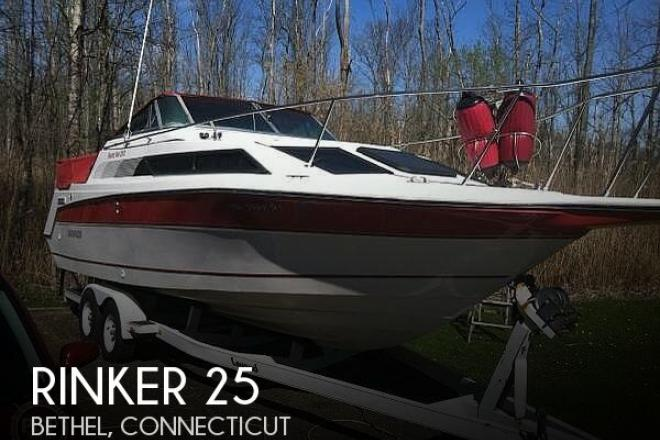 1990 Rinker Fiesta V 250 - For Sale at Bethel, CT 6801 - ID 175870