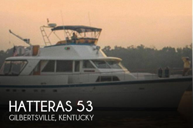1977 Hatteras 53 - For Sale at Gilbertsville, KY 42044 - ID 175871