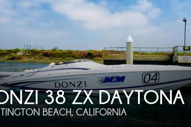 2004 Donzi 38 ZX Daytona - For Sale at Huntington Beach, CA 92649 - ID 79945